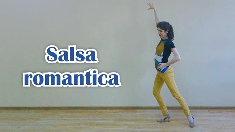 Salsa romantica. Lady style with Ruazanna
