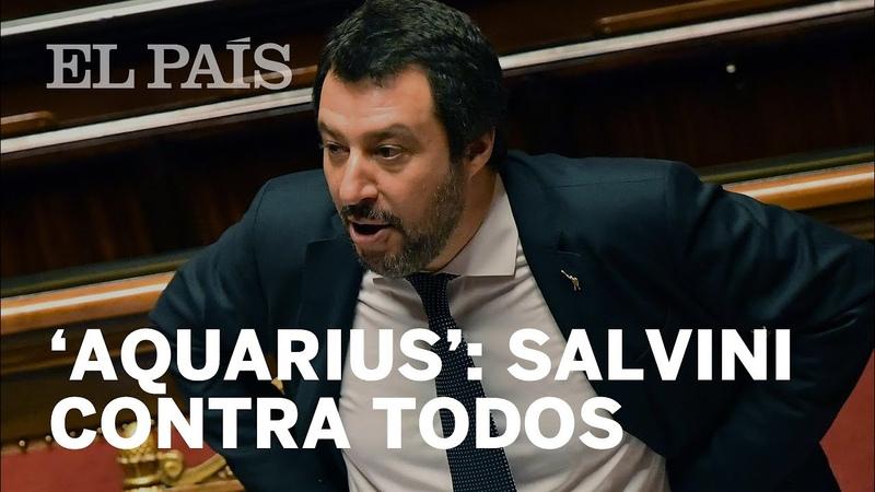 'AQUARIUS' SALVINI exige una disculpa a Macron