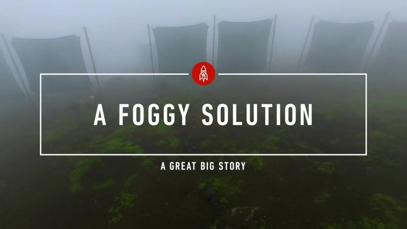 In Peru, a Foggy Solution to a Water Shortage