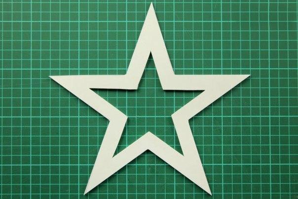 Большие новогодние звезды