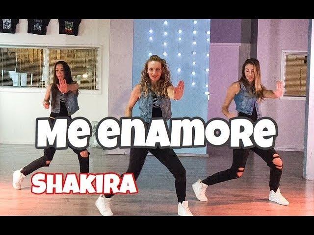 Me Enamoré - Shakira - Easy Fitness Dance Choreography - Baile - Coreografia