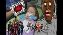 У СТОМАТОЛОГА играем в гренни покупаем новый лего Мстители 4 dentist playing granny Avengers 4