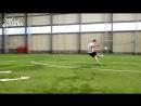 [Мир Футбола - Football World] Обучение удару в футболе. Часть 1. РАЗБЕГ. Как правильно бить сильно и точно? Как забить гол?