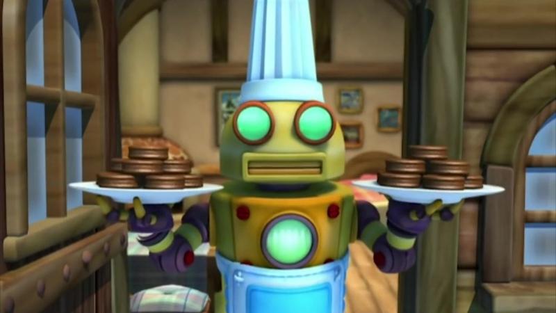 2 сезон 50 серия. Пингвинёнок Пороро. Возвращение робота-повара.