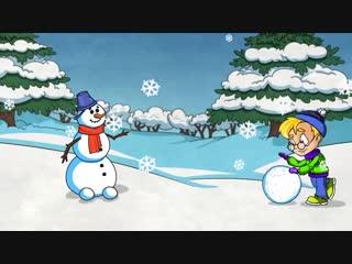 Профессор Почемушкин  Почему снег белый Познавательный мультфильм для детей.