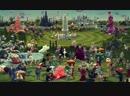 Contemporary interpretation of The Garden of Earthly Delights