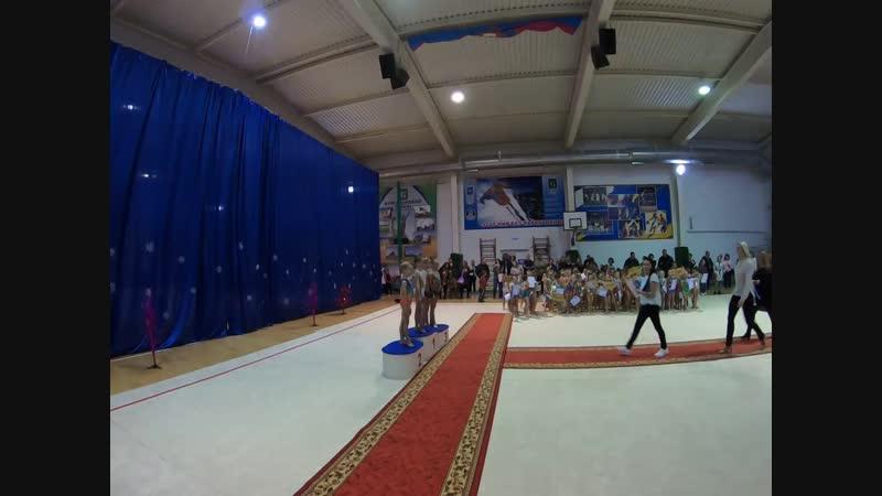 Открытый турнир по художественной гимнастике в Курганинске