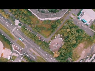 Хабаровск полет на DJI Mavic Air