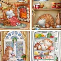 Коты по рисункам долотова