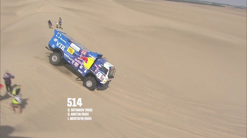 R sum Camion Étape 10 Pisco Lima Dakar 2019