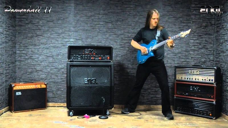 ENGL TV - Powerball 2 demo by Adrian Weiss (Gloryful)