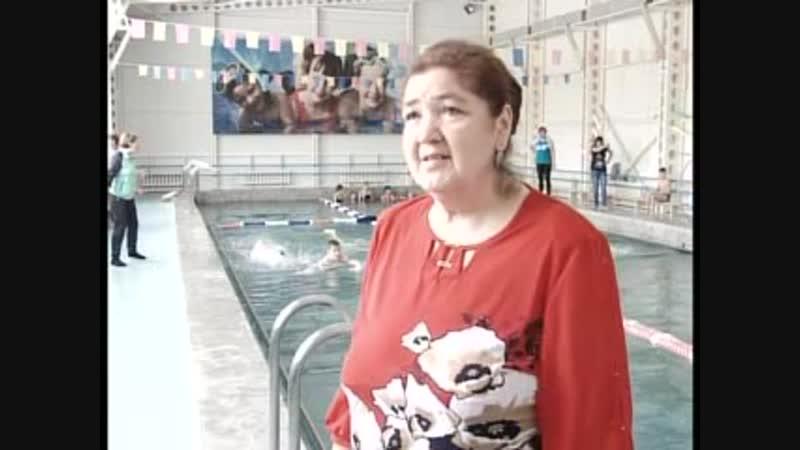 Соревнования по плаванию в Янауле