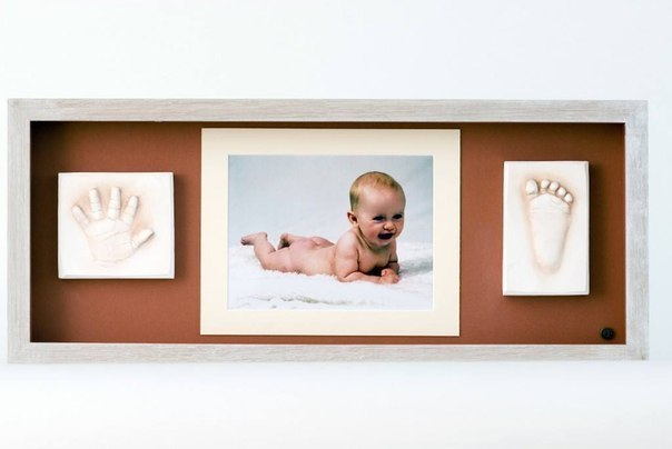 Орехи.ТВ - На память о том, какой ваш ребенок был маленький, сделайте слепок ножки/ручки любимого малыша.