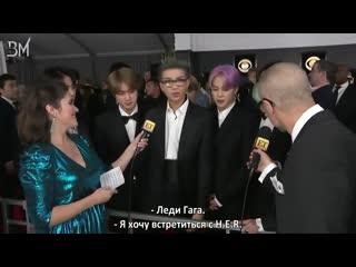 [RUS SUB][11.02.19] BTS Interview @ Entertainment Tonight