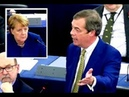 Farage calls on Merkel to apologise over migration debacle; denounces call for EU army - YouTube