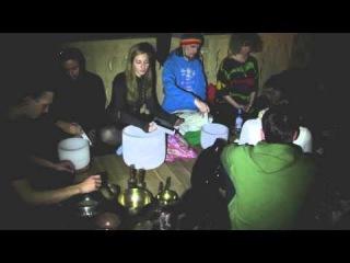 #КругОм звук Общий концерт - Гонг + Чаши+ танец-(  Круг_ОМ -ЗВУК 21.12.2013)