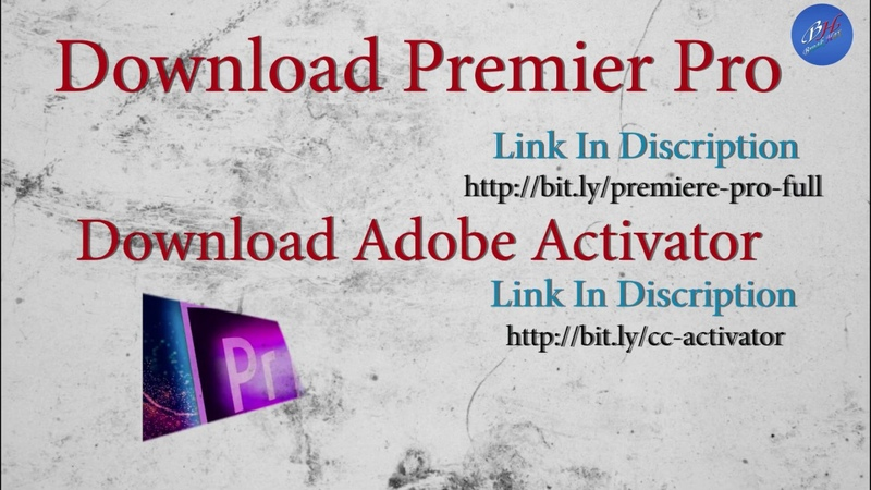Premiere Pro Free Download (CC 2018CC 2019) Full Version And Install