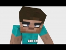 Steve vs Herobrine (MINECRAFT RAP BATTLE)_HD