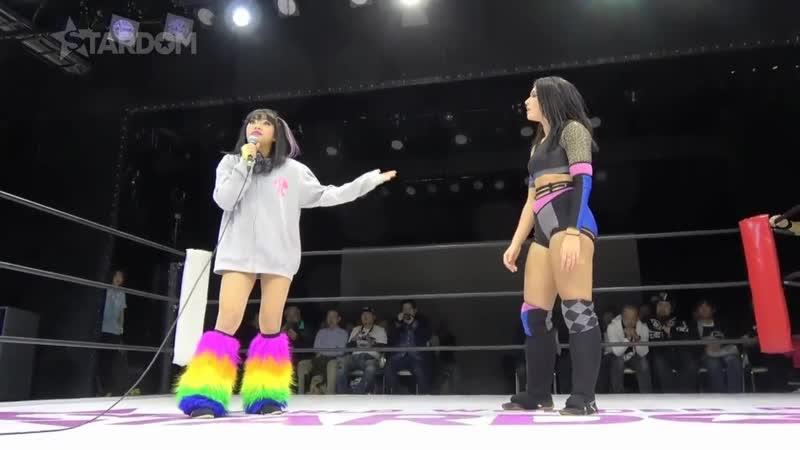 (1) Bobbi Tyler, Jamie Hayter Sadie Gibbs vs. Hanan, Hina Rina (leads directly to Hana Kimura Mary Apache vs. Kagetsu Natsu