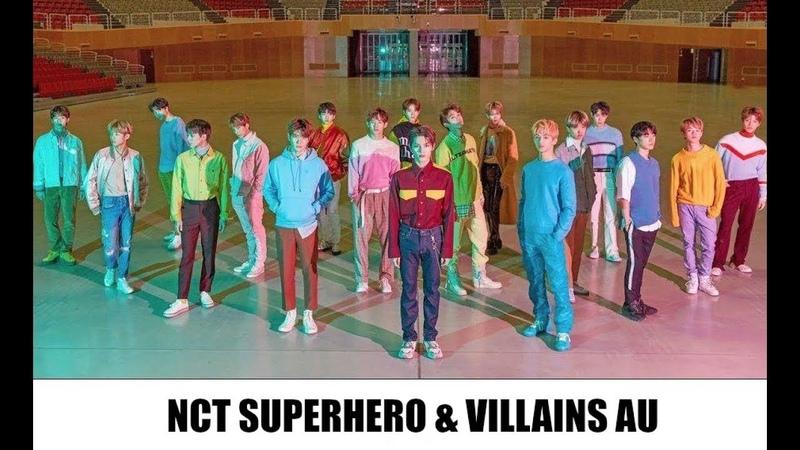 Nct superherovillians au