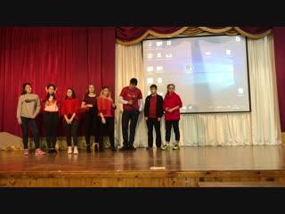 Тренинг по командообразованию УС 29.11.2018. Представление комитета Творчества