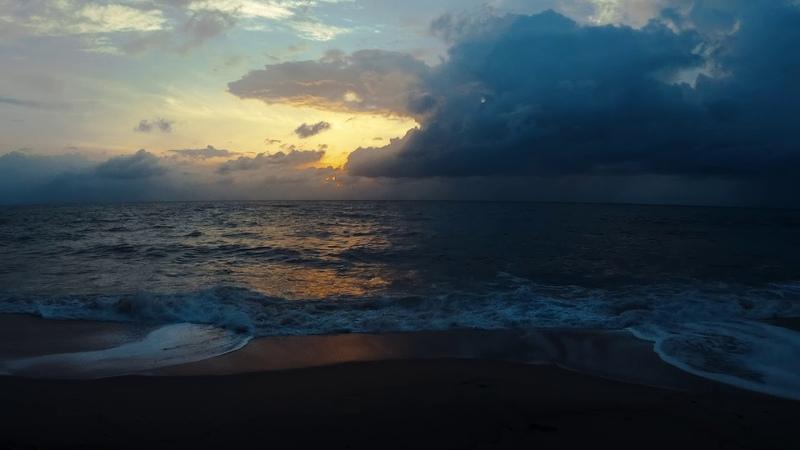 Disquiet sunrise at Koh Samui