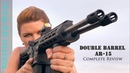 New DOUBLE BARREL AR Complete Review Double Firepower Double Fun