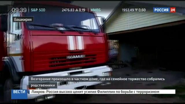 Новости на Россия 24 • Названа причина гибели девяти человек на пожаре в Башкирии