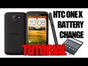 HTC One X Battery Replacement Tutorial Using the HTC One X Battery