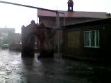 Тёплый дождь  у церкви Святого Акопа  17 века  в Ереване