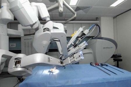 Хирургический робот da Vinci начал работать в ростовском КДЦ «Здоровье»