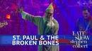 St. Paul The Broken Bones - Zat You Santa Claus (The Late Show with Stephen Colbert)