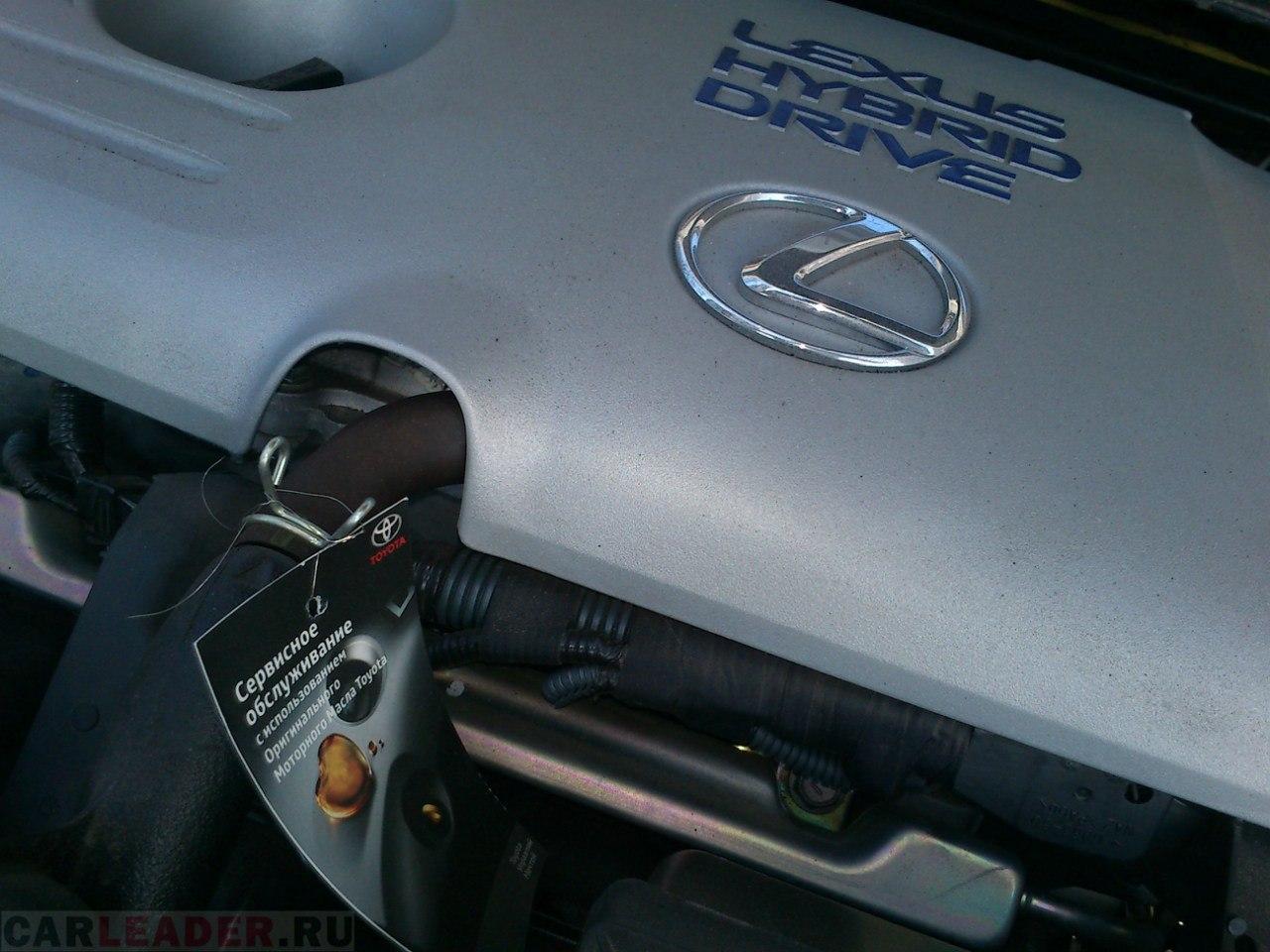 Гибридный двигатель Lexus CT