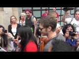 Joseph Morgan on streets of San Diego Comic Con