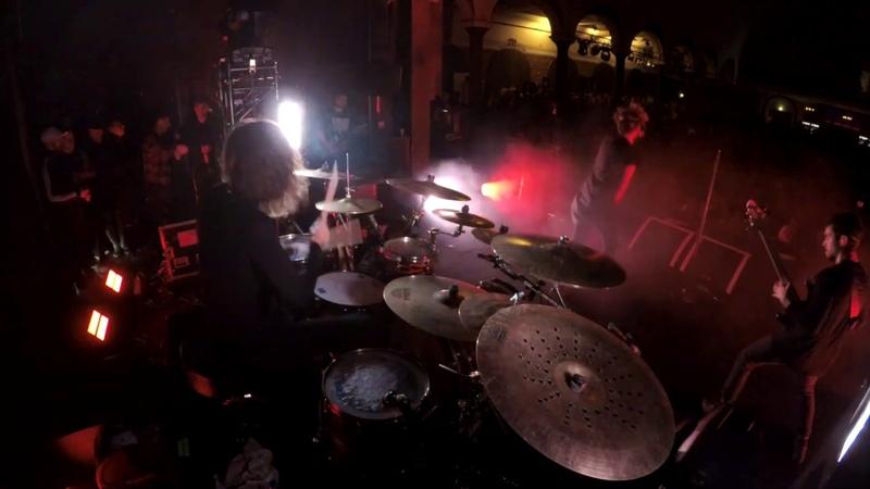 Nic Pettersen Northlane Intuition Live Drum Cam