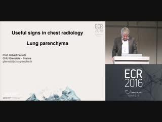 Lung parenchyma G.R. Ferretti;