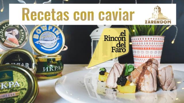 Recetas con caviar | El Rincon del Faro, Cullera