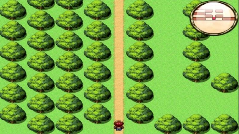 Какой-то лес