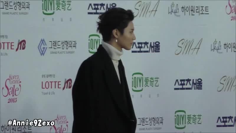 150122 14 SHINee 샤이니 Taemin 태민 Red Carpet 레드카펫 レッドカーペット @ Seoul Music Awards 2015 서울가요대상