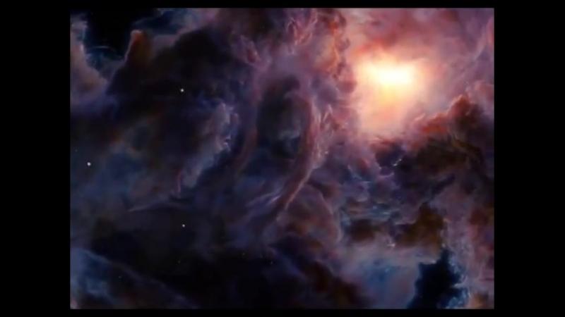 3D-анимация межзвездных облаков