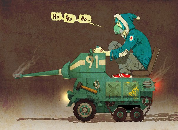 аниме танк