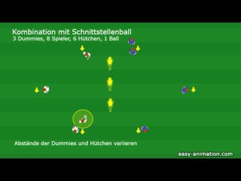 Animierte Drills Kombination mit 3 Dummies