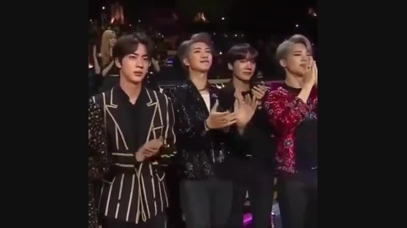 Joons reaction to janet's speech where she talks about wanting gender equality and fightin