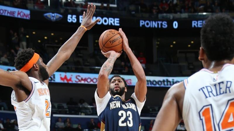 NBA New York Knicks vs New Orleans Pelicans Nov 16, 2018