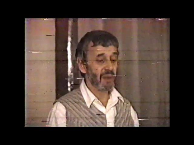 Анри Волохонский Фестиваль поэзии 1986 нормальный звук