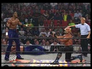 Hollywood Hogan & Dennis Rodman vs DDP & Karl Malone 3/3