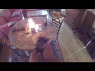 Приготовление тоста (6 sec)