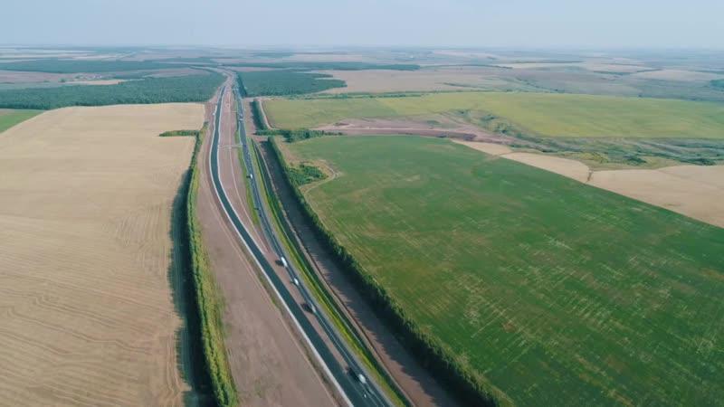 Завершена реконструкция трассы М 7 Волга на участке от Казани до Набережных Челнов mp4