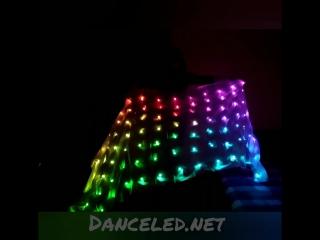 Пиксельная шаль