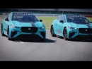 The pack is growing The first three Jaguar I PACE eTROPHY race cars electrify the iconic SilverstoneUK circuit We can't wait t